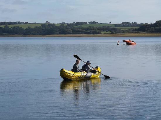 Roadford Reservoir Kayaking