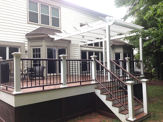 Deck builder & design in Denver NC, Huntersville NC, Cornelius NC, Davidson NC