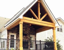 A-frame porch- Davidson