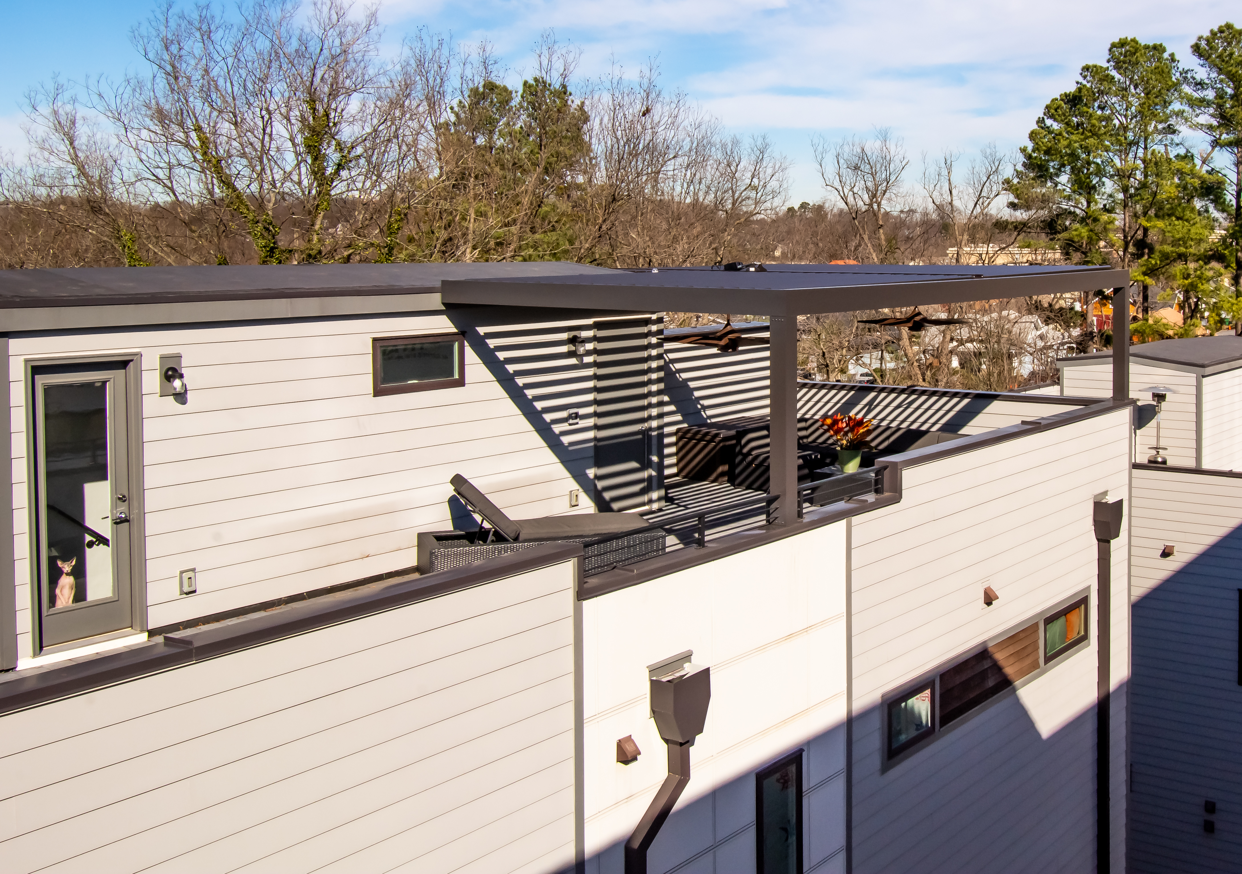 Patio Covers/ Outdoor Solutions/ NC   Rooftop Patio Cover ...