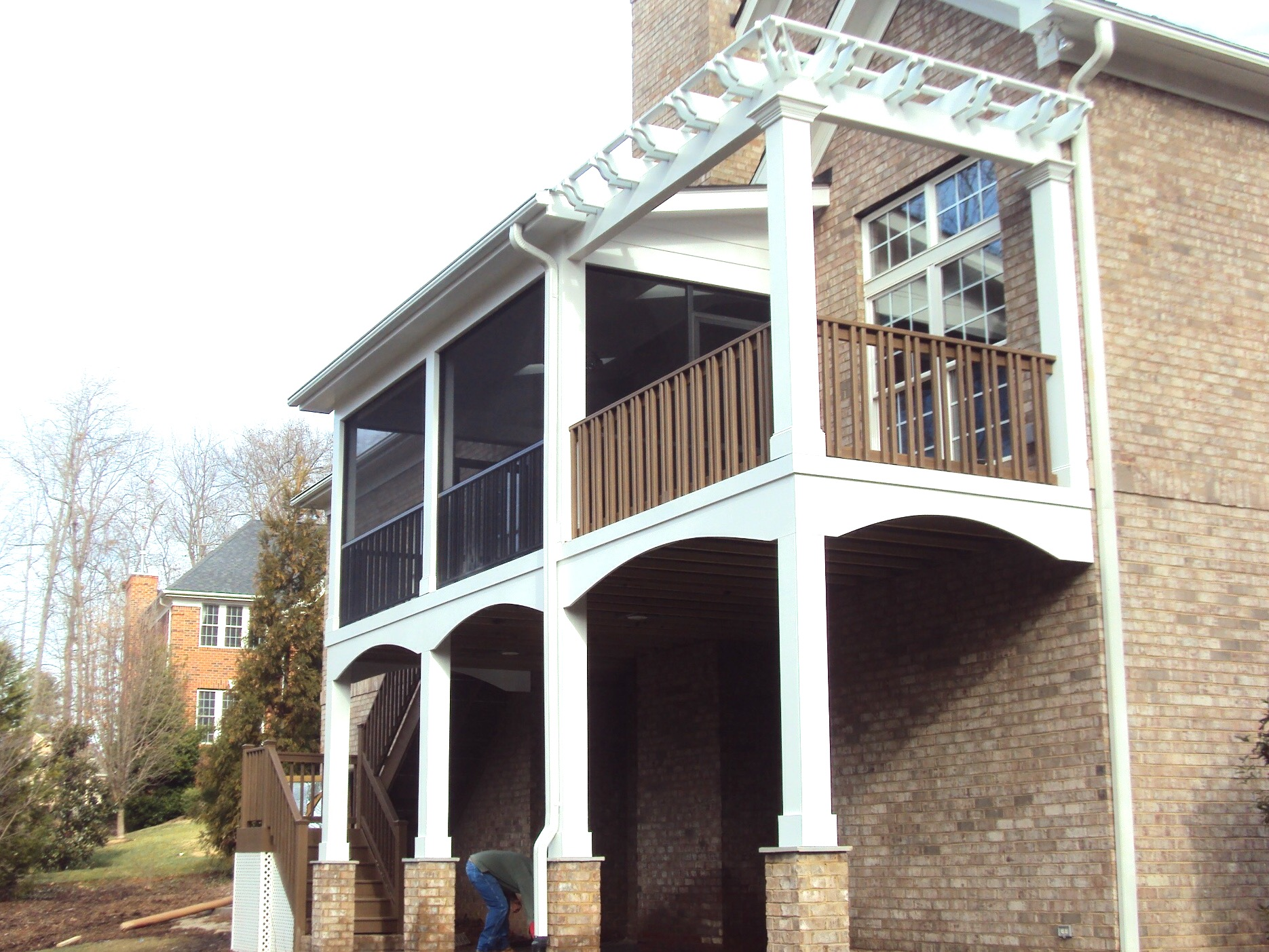 Screened Porch & Pergola- Birkdale
