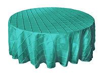tiffany blue round tablecloth