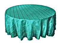 tiffany blue round tablecloth