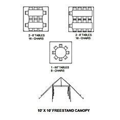 10x10 tents