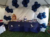 marinerito decoration for a baby shower