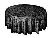 Black round tablecloths 120 rd