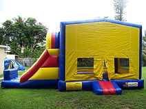 slide bounce house rental miami