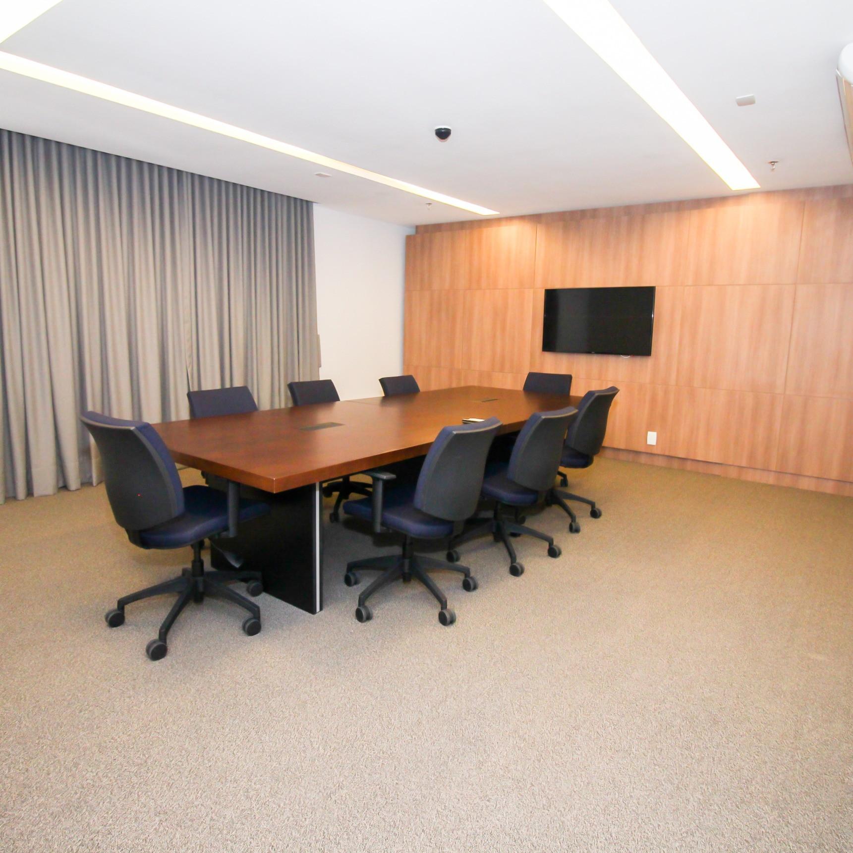 Sala de reunião (8 lugares)