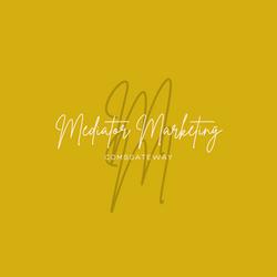 Mediator Marketing logo gold