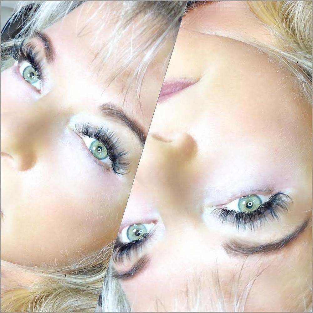 Fullset of Volume Eyelash Extensions