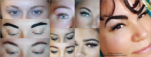 Henna Brows Before and After