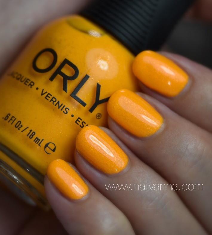Nailvanna,nail polish review,lacquer,Orly, Summer Sunset,