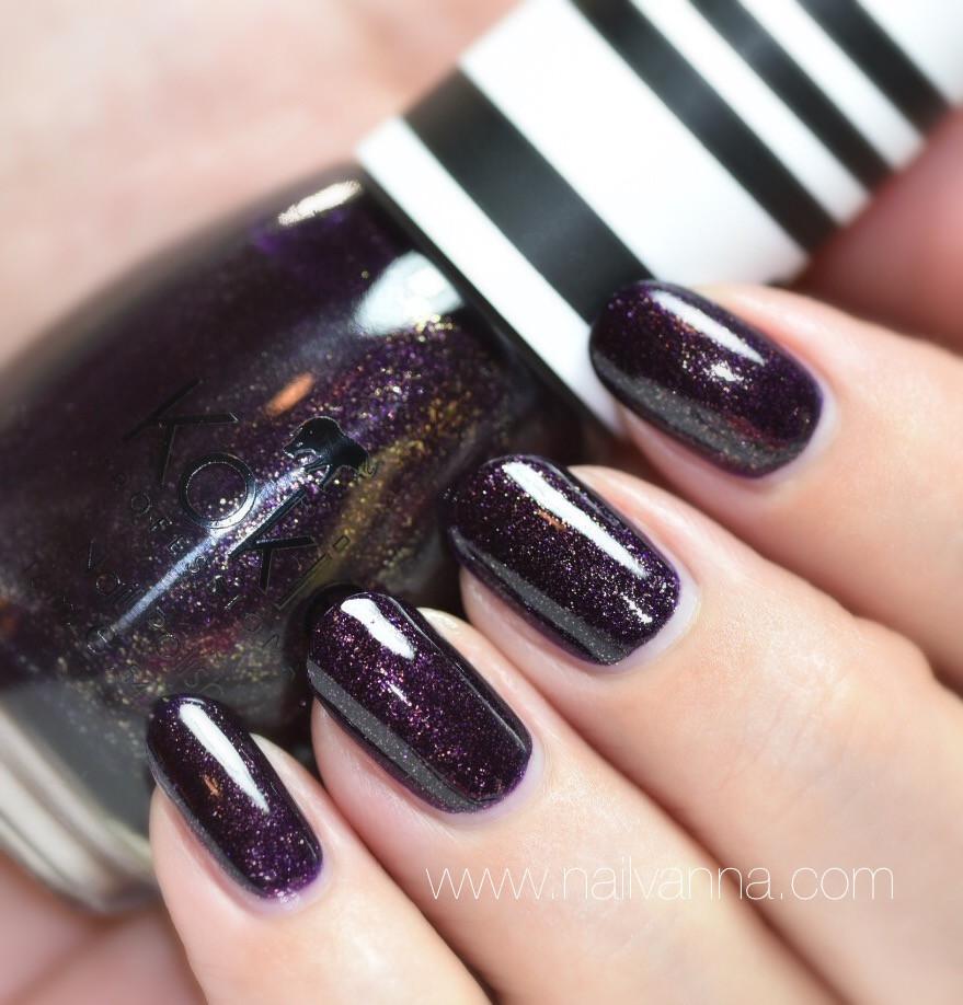 Nailvanna, nail polish reviews,lacquer,Kokie,Bewitching