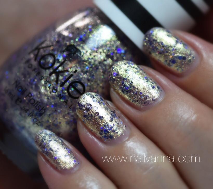 Nailvanna,nail polish reviews,lacquer,Kokie,Crown Jewel