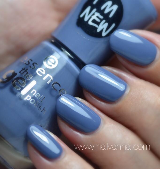 Nailvanna,nail polish reviews,lacquer,Essence,Jeans On!,blue