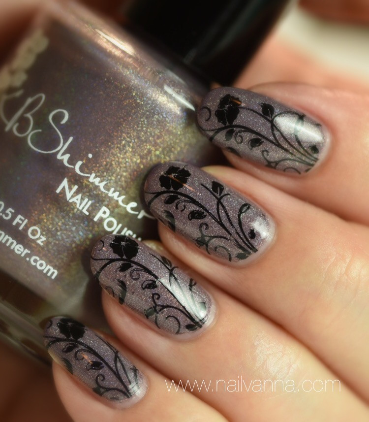 Nailvanna,nail polish review,lacquer,KB Shimmer,The Office Space,Cubicle Pusher,Naughty Neutrals,nail art