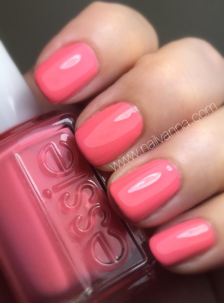 nailvanna,nail polish reviews,lacquer,essie, spring 2016, lounge lover, pink
