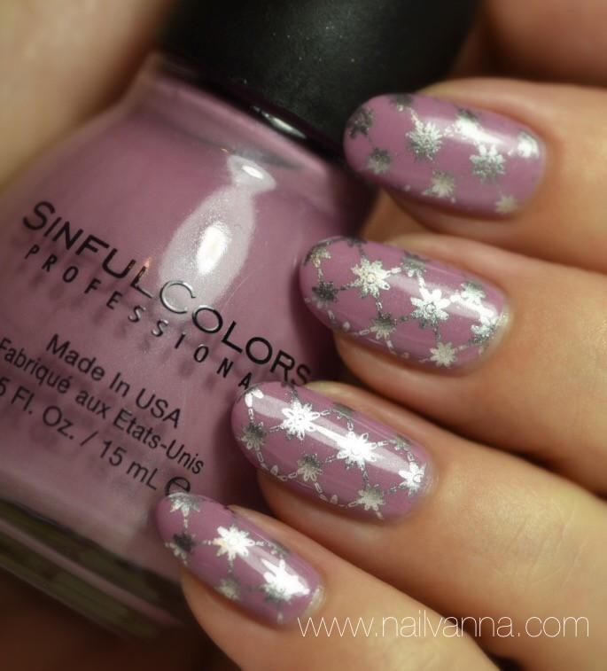 Nailvanna,nail polish reviews,lacquer,Sinful Colors,Rose Dust