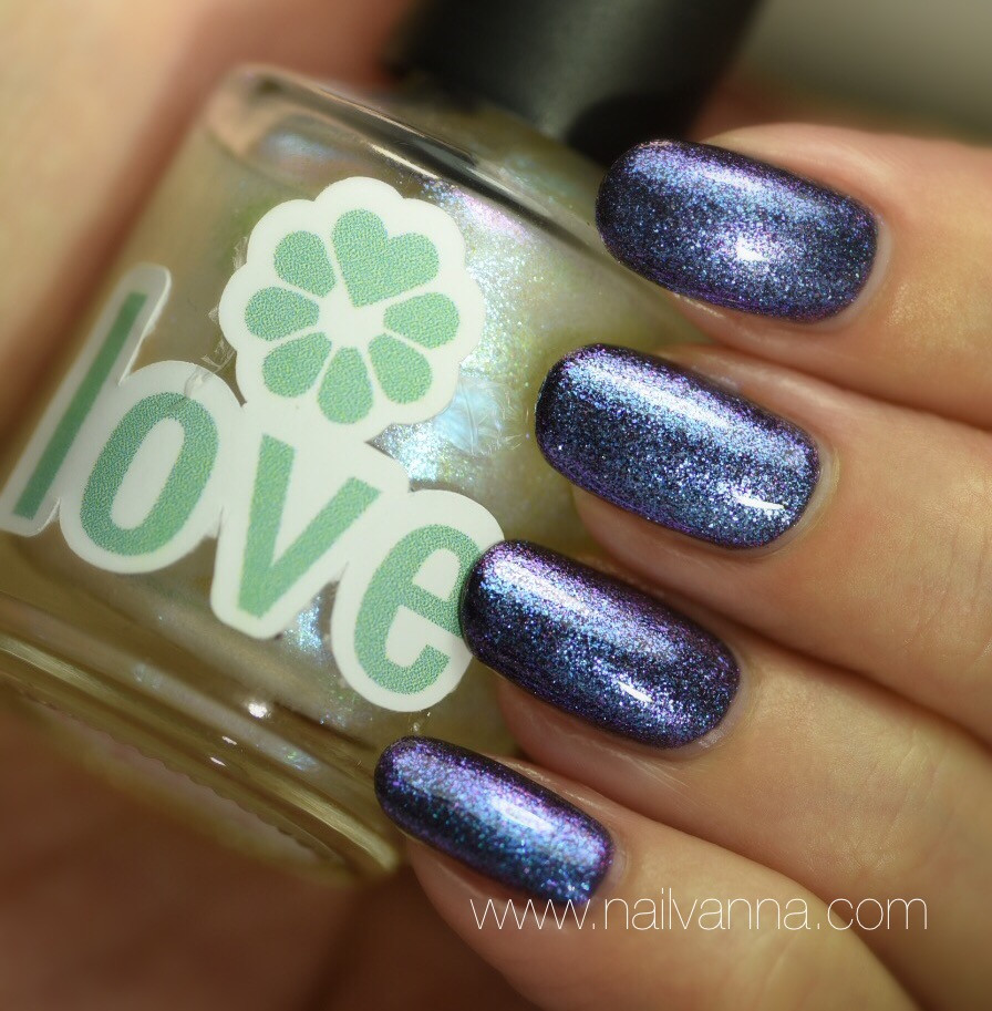 Nailvanna,nail polish review,lacquer,Love Lacquer,Voodoo,purple