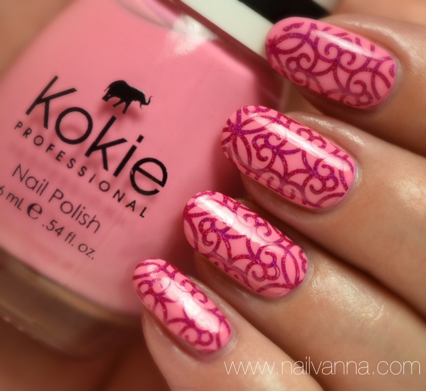 Nailvanna,nail polish reviews,lacquer,Kokie,Unforgettable,pink,superchic lacquer,tramp queen