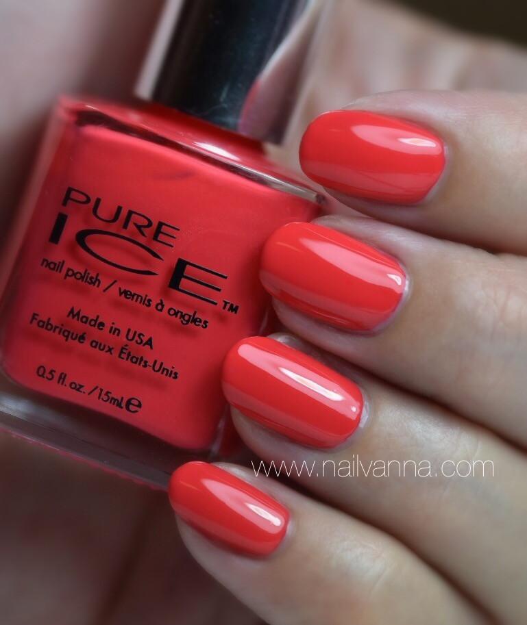 Nailvanna,nail polish reviews,lacquer,Pure Ice,Wear Red