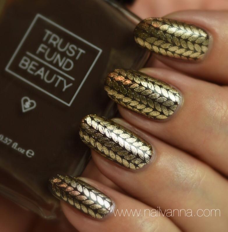 Nailvanna,nail polish reviews,lacquer,Ipsy,Trust Fund Beauty, $12 Latte