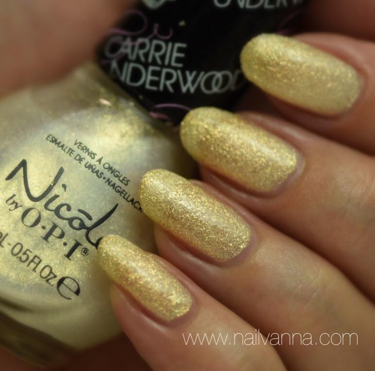 Nailvanna,nail polish reviews,lacquer,Nicole by OPI,Sing You Like  Bee