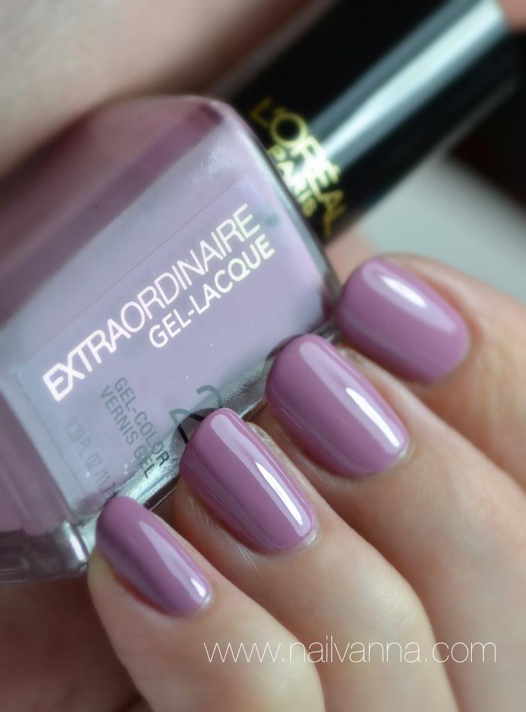 Nailvanna,nail polish review,lacquer,l'oreal,miss luster-ess,