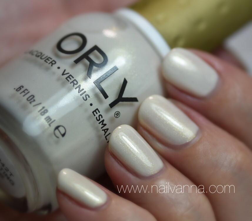 Nailvanna,nail polish review,lacquer,Orly,Frosting
