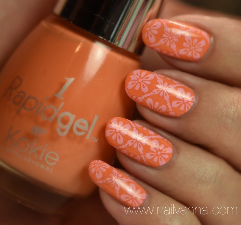 Nailvanna,nail polish reviews,lacquer,Kokie, Mango With Me