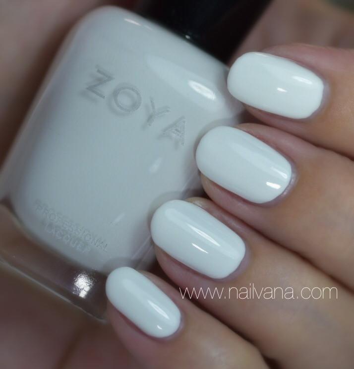 Nailvanna,nail polish reviews,lacquer,Zoya,Purity,white