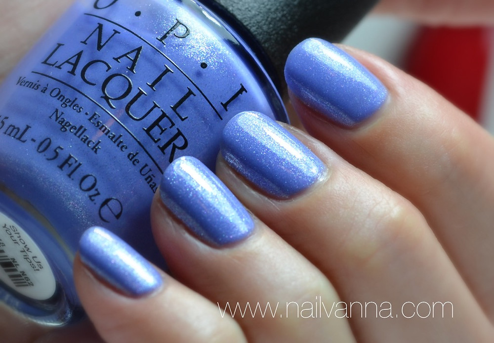 Nailvanna,nail polish reviews,lacquer,OPI,New Orleans,Show us your tips!,blue shimmer