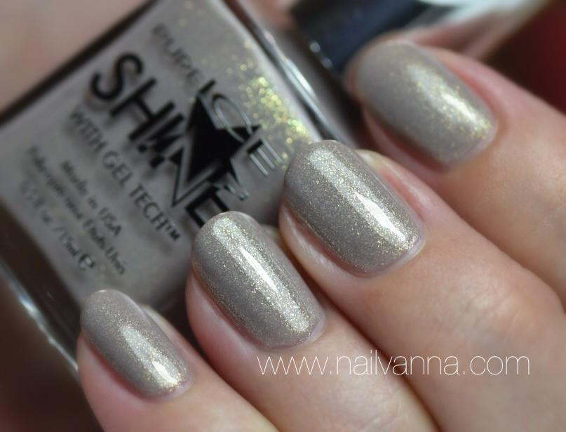 Nailvanna,nail polish reviews,lacquer,Pure Ice,Good Glistener,neutral