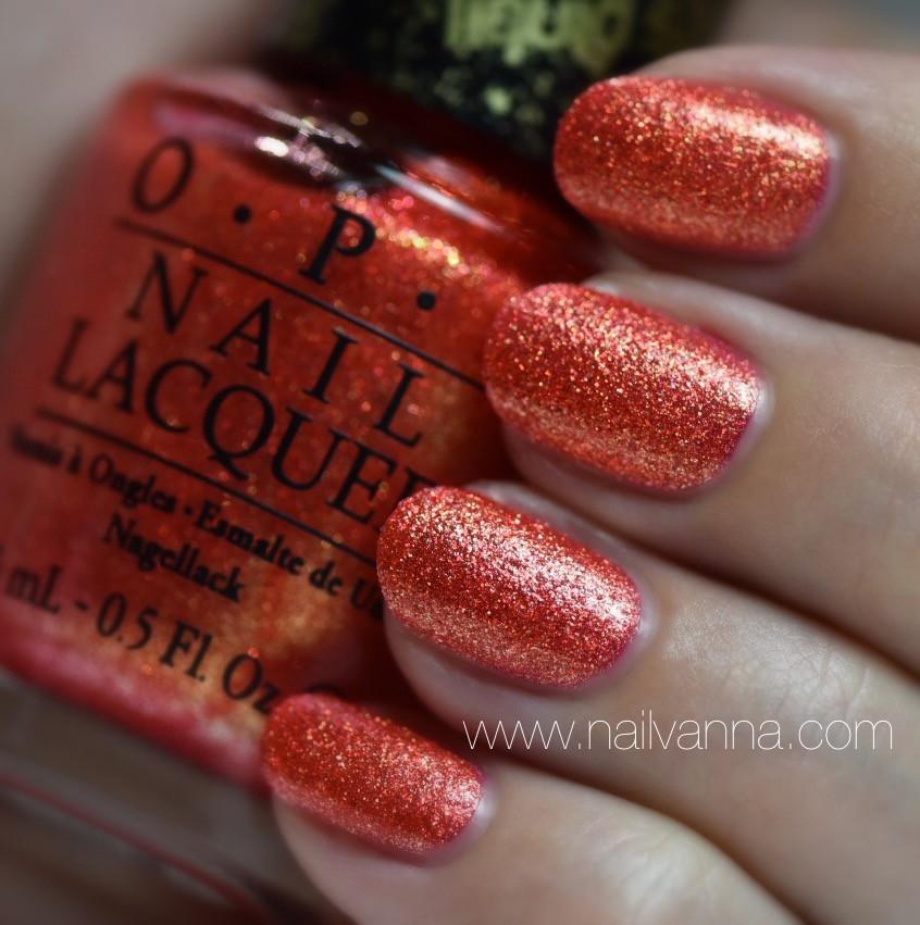 Nailvanna,nail polish reviews,laquer,OPI,Jinx,Textured