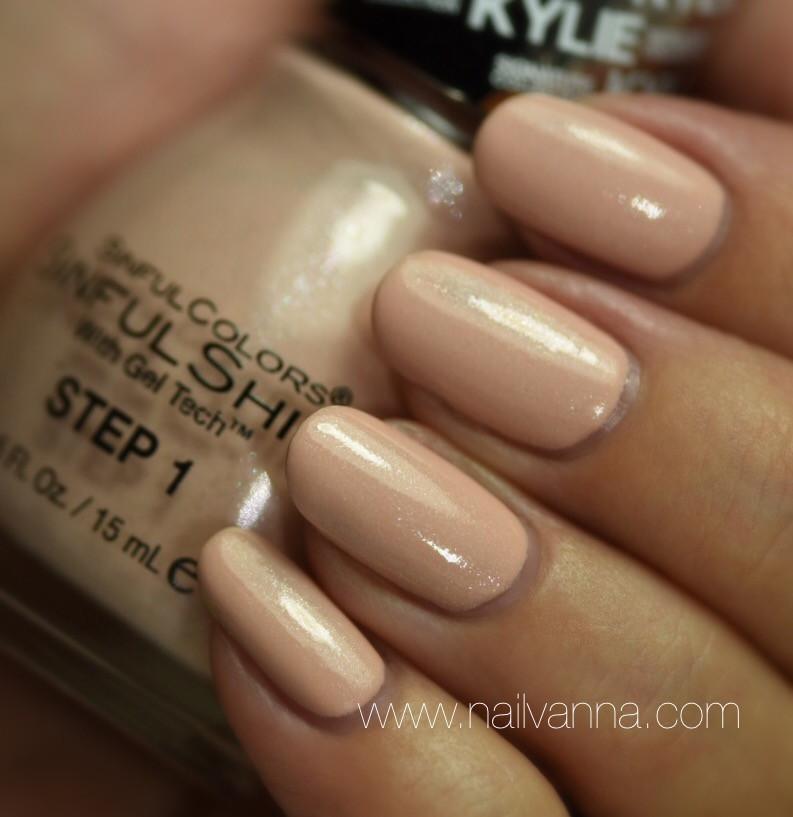 Nailvanna,nail polish reviews,lacquer,Sinful Colors,Kommando,Neutral,kylie jenner