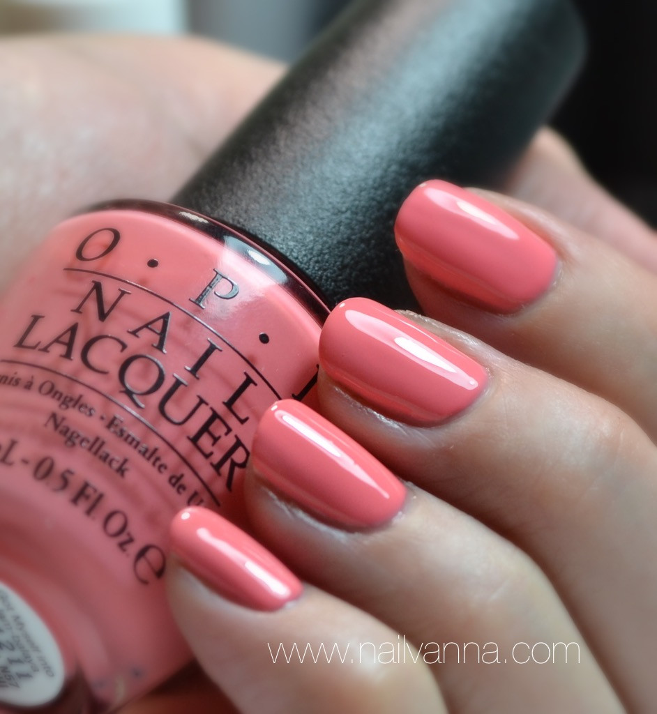 Nailvanna,nail polish reviews,lacquer,OPI,New Orleans,Pink,Got Myself Into a Jam-Balaya