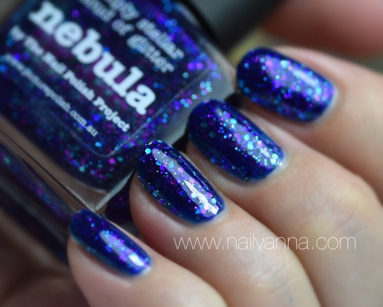 Nailvanna,nail polish review,lacquer,picture polish,nebula,jelly,glitter