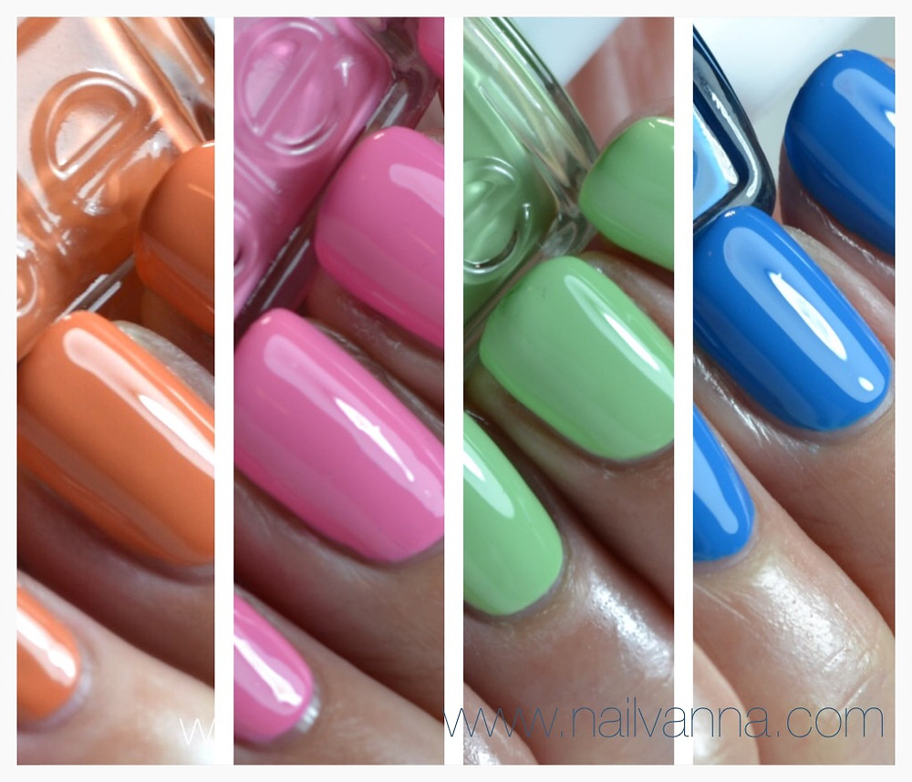 Nailvanna,nail polish reviews,lacquer,essie resort,