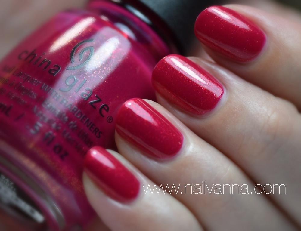 nailvanna,nail polish reviews,lacquer,China Glaze,Ahoy!,Pink