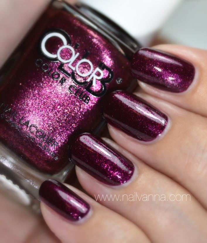 Nailvanna,nail polish reviews,lacquer,Color Club Winter,Affair
