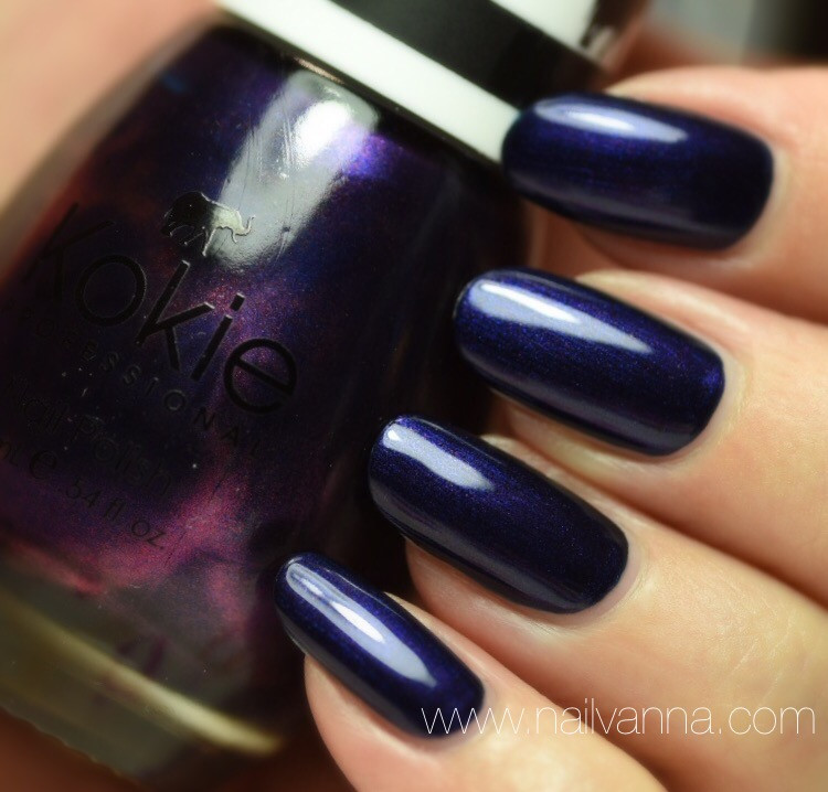 Nailvanna,nail polish reviews,lacquer,Kokie Mischievous