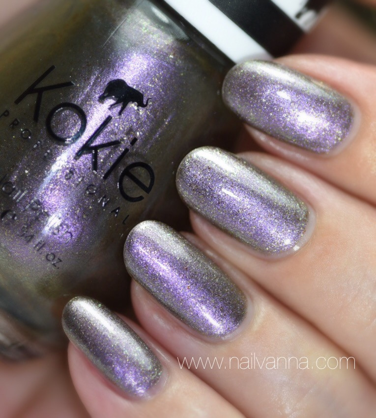 Nailvanna,nail polish reviews,lacquer,Kokie,Onyx,multi chrome