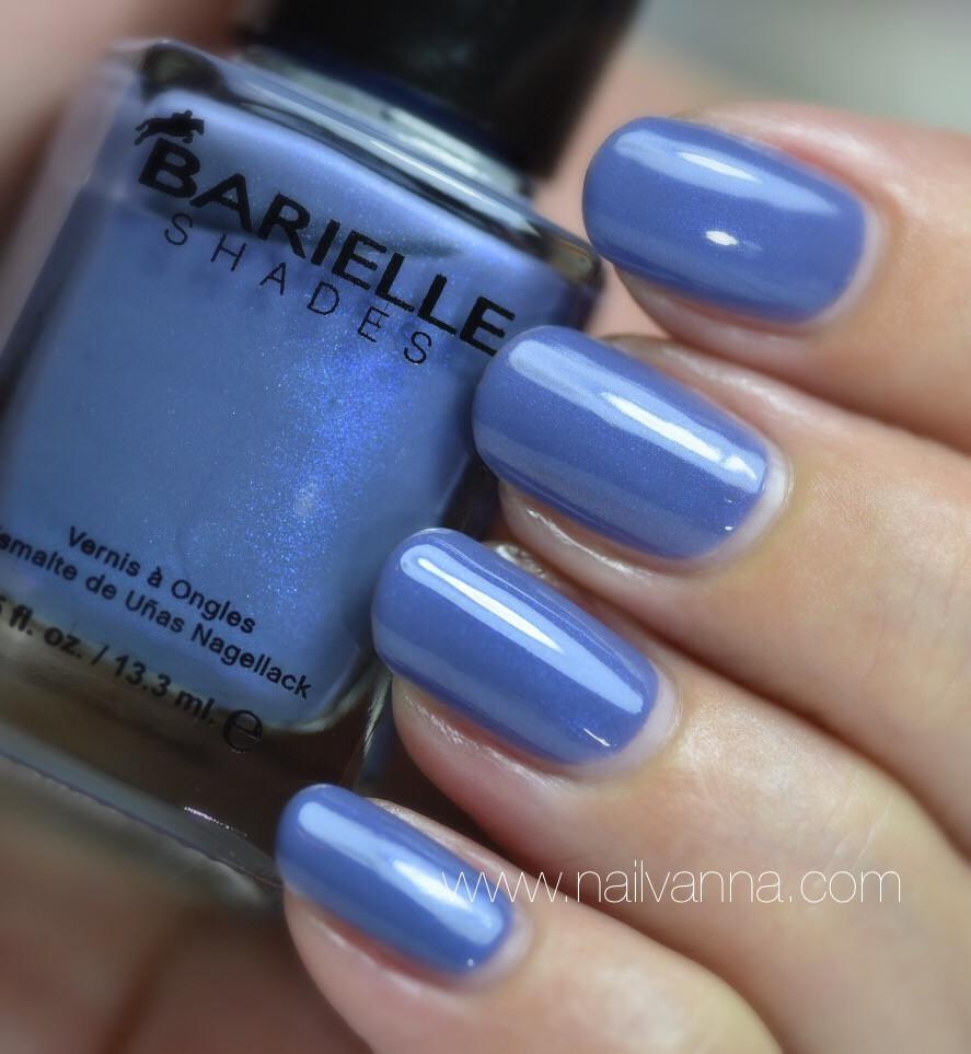 Nailvanna,nail polish reviews,lacquer,Barielle,Slate Of Affairs
