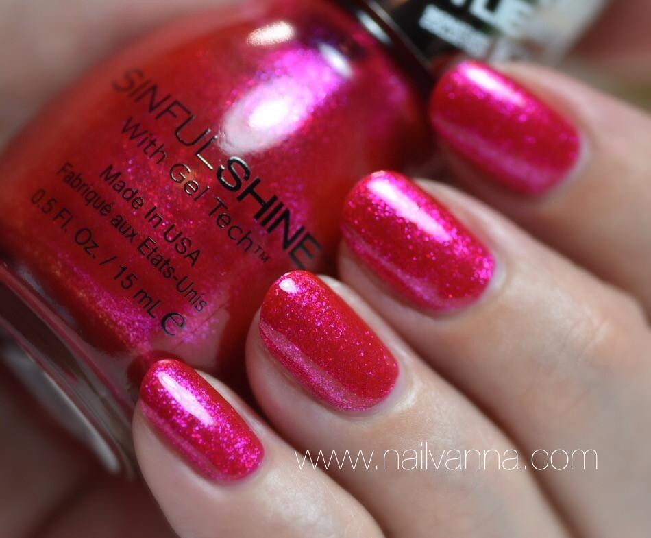 Nailvanna,nail polish reviews,lacquer,sinful colors,Kylie Jenner,real regal