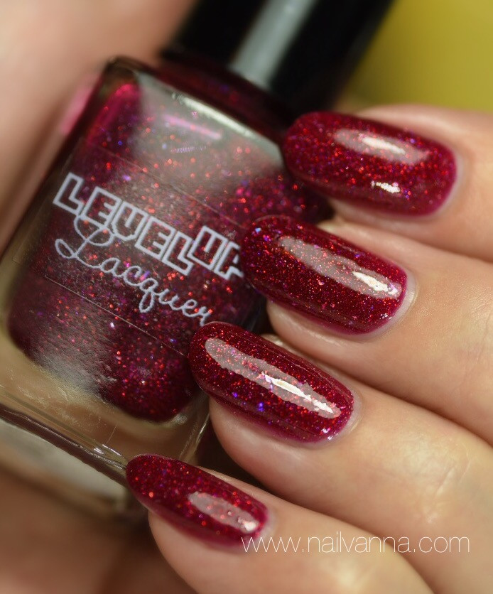 Nailvanna,nail polish review,lacquer,Level Up Lacquer,Fairy Blood
