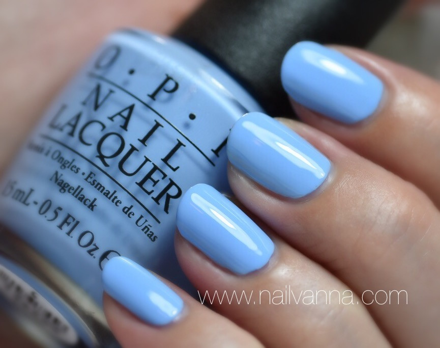 Nailvanna,nail polish reviews,lacquer,OPI,blue,the i's have it,Alice Through The Looking Glass