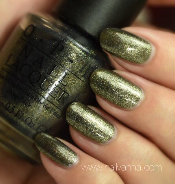 Nailvanna, nail polish reviews,lacquer,OPI, Number One Nemesis
