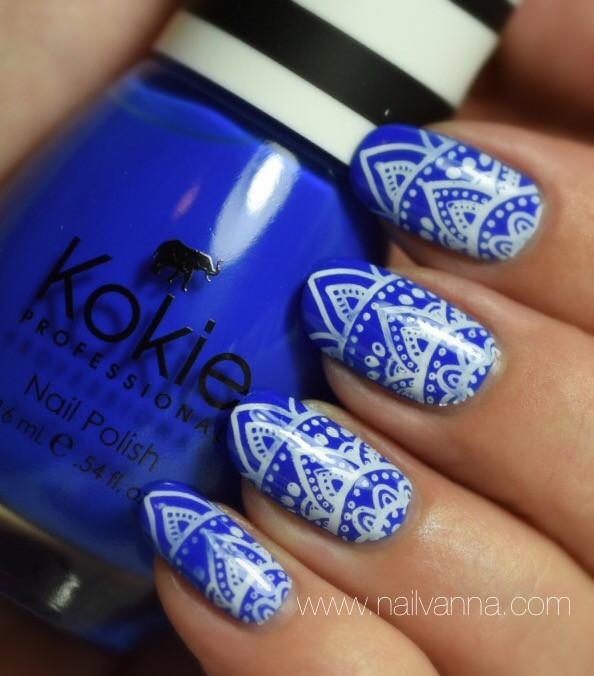 Nailvanna,nail polish reviews,lacquer,Kokie,Atlantis At Last,cobalt blue