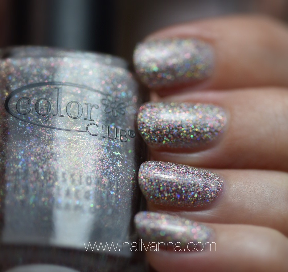 Nailvanna,nail polish reviews,lacquer,Color Club, Magic Attraction,glitter