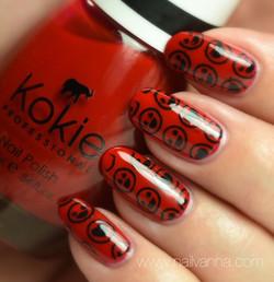 Kokie Seeing Red Stamped